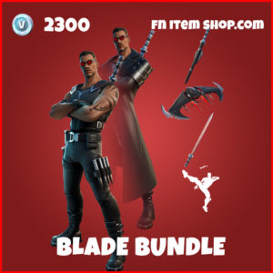 Blade Bundle fortnite skins item marvel pack