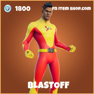 Blastoff legendary fortnite skin