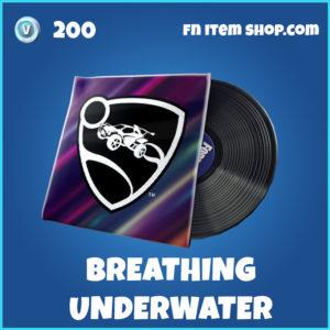 Breathing Underwater music pack fortnite rare item