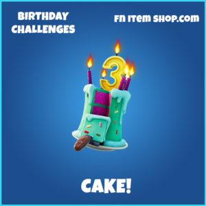 Cake! backpack fortnite item