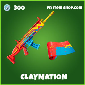 Claymation uncommon fortnite wrap