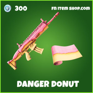 Danger Donut uncommon fortnite wrap