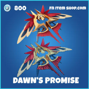 Dawn's Promise fortnite glider rare item