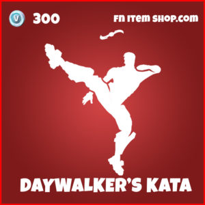 Daywalker's Kata Fortnite Blade Emote item