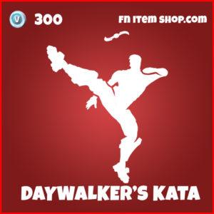 Daywalker's Kata Fortnite Blade Emote item