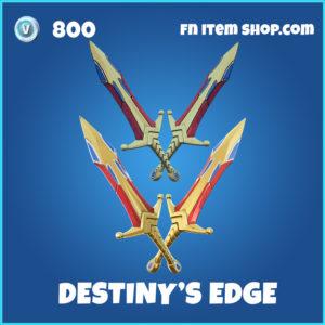 Destiny's Edge fortnite pickaxe rare item