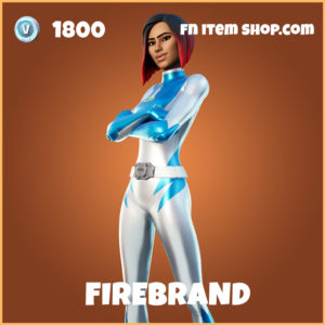 Firebrand legendary fortnite skin