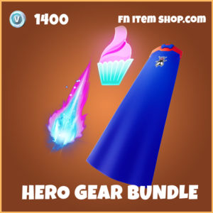 Hero Gear Bundle legendary fortnite backpacks pack