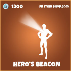 Hero's Beacon legendary fortnite emote