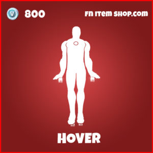 Hover epic fortnite emote