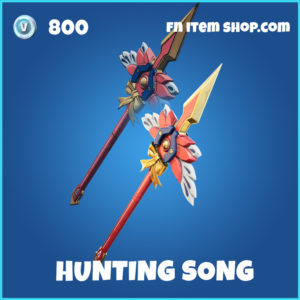 Hunting Song fortnite pickaxe rare item