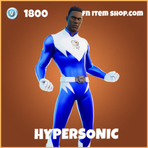 Hypersonic legendary fortnite skin