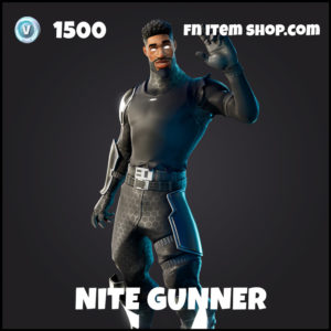 Nite gunner fortnite skin