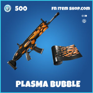 Plasma Bubble rare fortnite wrap