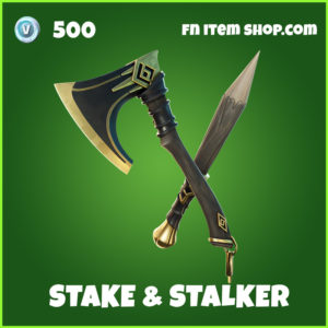 Stake & Stalker fortnite pickaxe uncommon item
