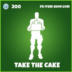 Take The Cake fortnite emote uncommon item
