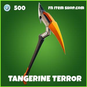 Tangerin Terror fortnite pickaxe uncommon item