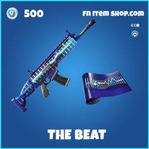 The Beat fortnite wrap rare item