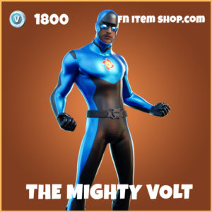 The Mighty Volt legendary fortnite skin