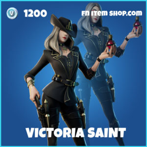 Victoria Saint rare fortnite skin