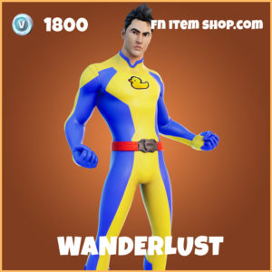Wanderlust legendary fortnite skin