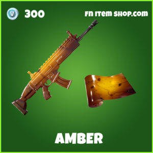 Amber fortnite wrap