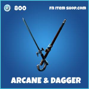 Arcane & Dagger fortnite pickaxe