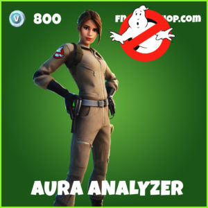 Aura Analyzer Fortnite Ghostbusters Skin