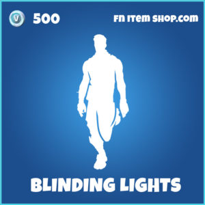 Blinding Lights fortnite emote
