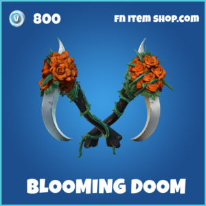 Blooming Doom fortnite pickaxe