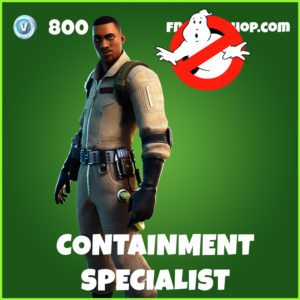 Containment Specialist Fortnite Ghostbusters Skin
