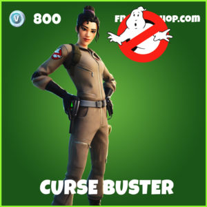 Curse Buster Fortnite Ghostbusters Skin