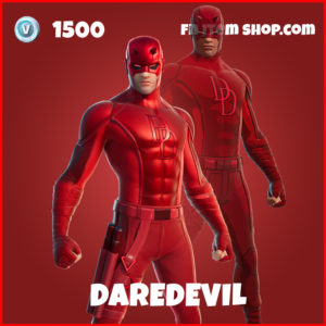 Daredevil fortnite marvel skin