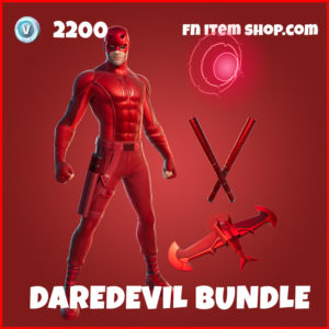 Dardevil Fortnite skin marvel bundle