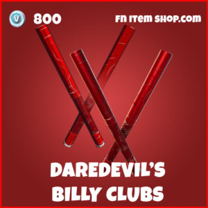 Daredevil's Billy Clubs fortnite pickaxes