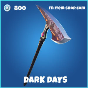 Dark Days FOrtnite pickaxe