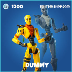 Dummy rare fortnite skin