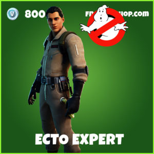 Ecto Expert Fortnite Ghostbusters Skin