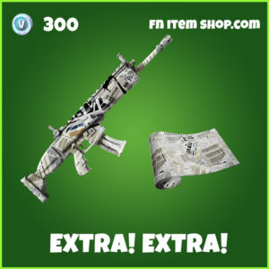 Extra! Extra! fortnite wrap