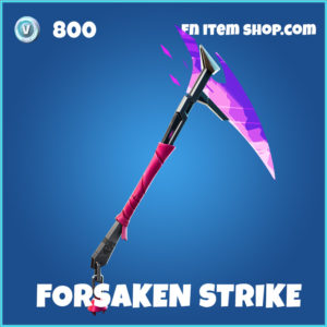 Forsaken Strike fortnite pickaxe