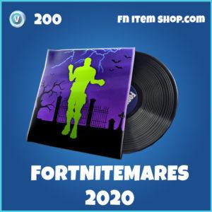 Fortnitemares 2020 music pack 2020