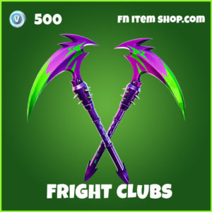 Fright Clubs Fortnite Pickaxe