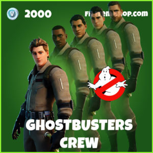 Ghostbusters Crew Fortnite Skin