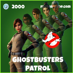 Ghostbusters Patrol Fortnite Bundle