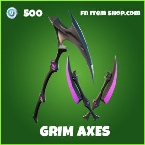 Grim Axes fortnite pickaxes