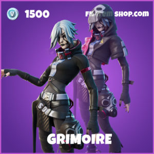 Grimoire Fortnite skin