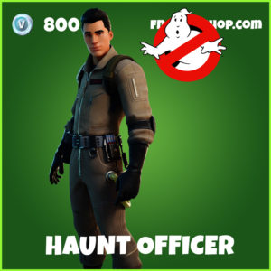 Haunt Officer Fortnite Ghostbusters Skin