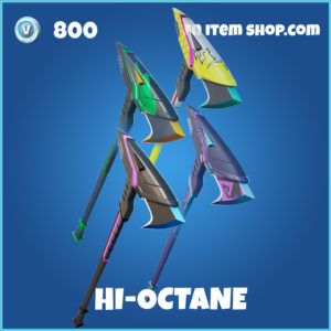 Hi-Octane fortnite pickaxe