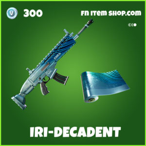 Iri-Decadent fortnite wrap