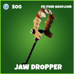 Jaw Dropper fortnite pickaxe